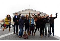 Studenci WSZOP w ramach programu ERASMUS studiują za granicą.